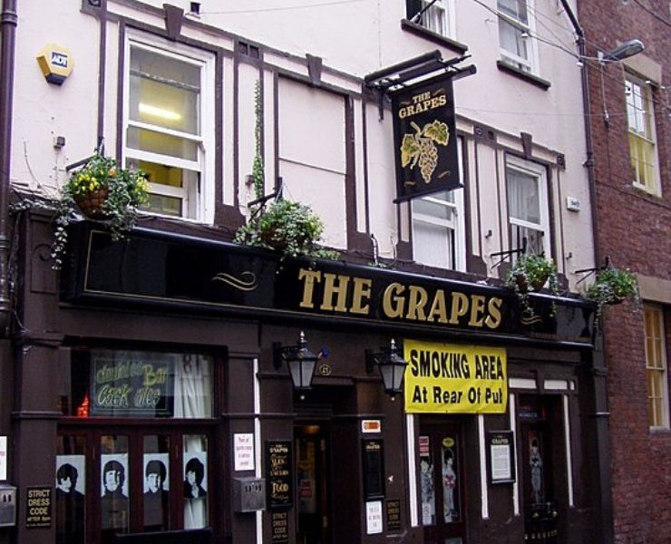 The Grapes pub in Liverpool