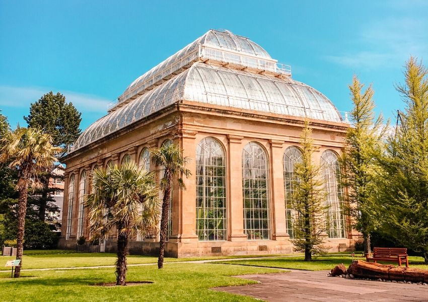 The Glasshouses in Edinburgh