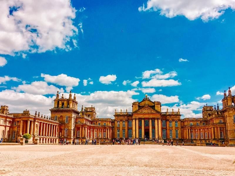 Blenheim Palace a popular UK bucket list destination
