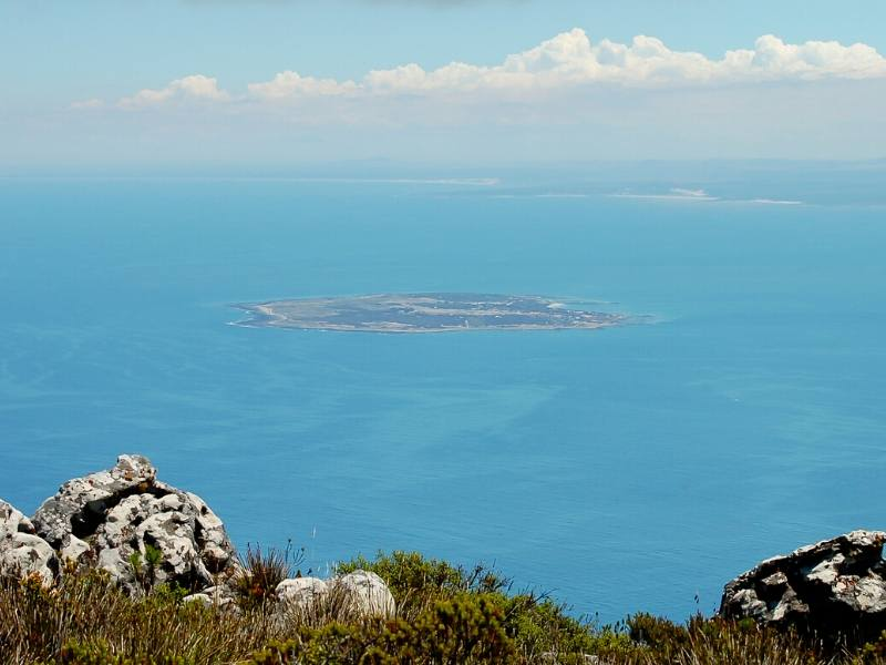 A view of Robben Island