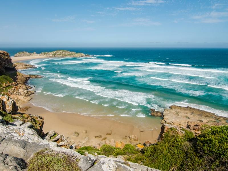 A picture showing Robberg Peninsula Beach in South Africa