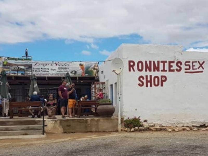 Shop in South Africa called Ronnies!