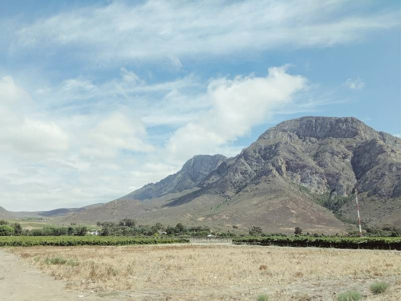 View of the Karoo in South Africa