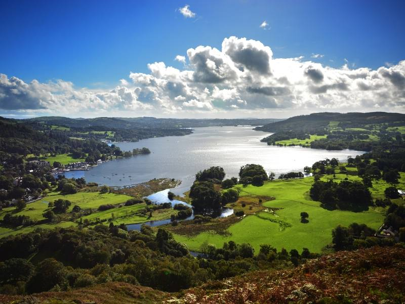 View over Lake Windermere