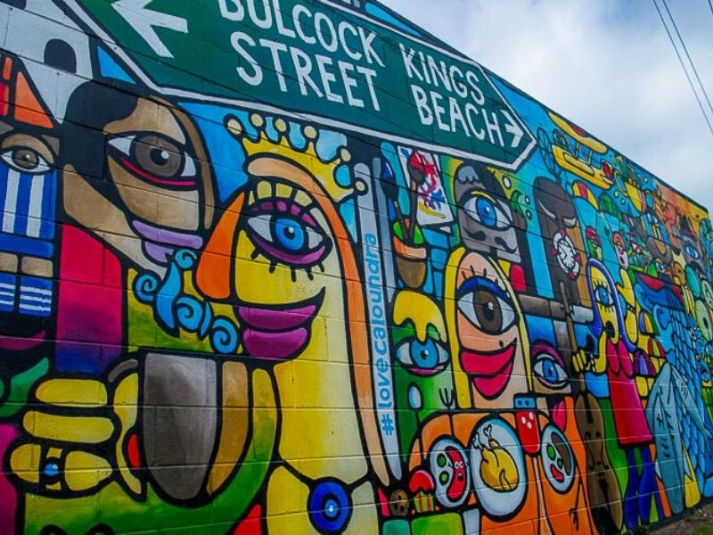 Caloundra Street Art in Australia