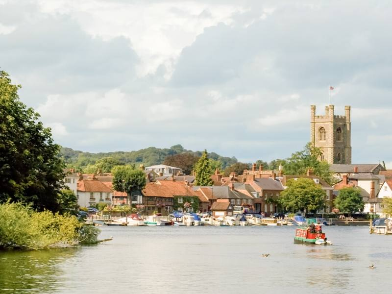 Henley-on-Thames in Oxfordshire