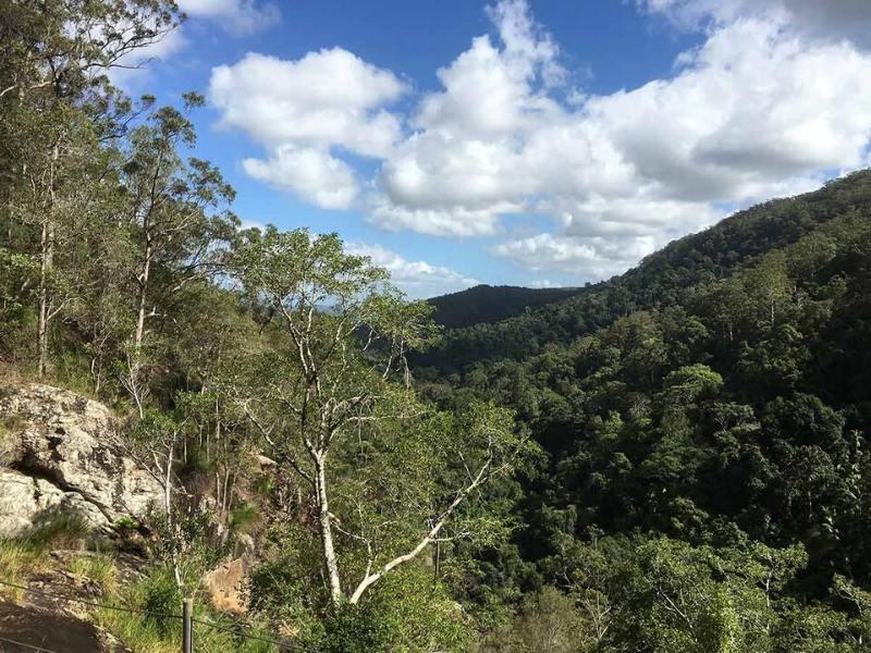 Kondalilla Falls in the Sunshine Coast hinterland