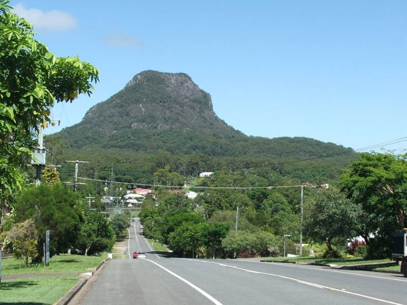 Mt Pomona a visit to the area is one of the best things to do in the Sunshine Coast Hinterland