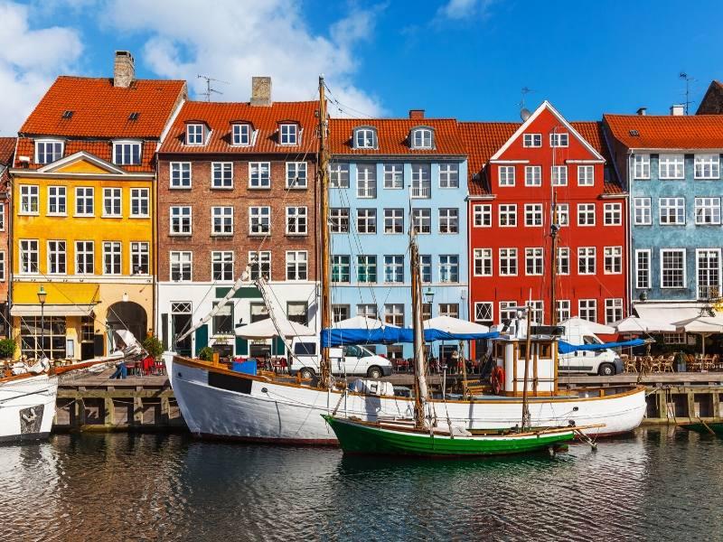 Nyhaven in Copenhagen one of the most beautiful cities in Europe