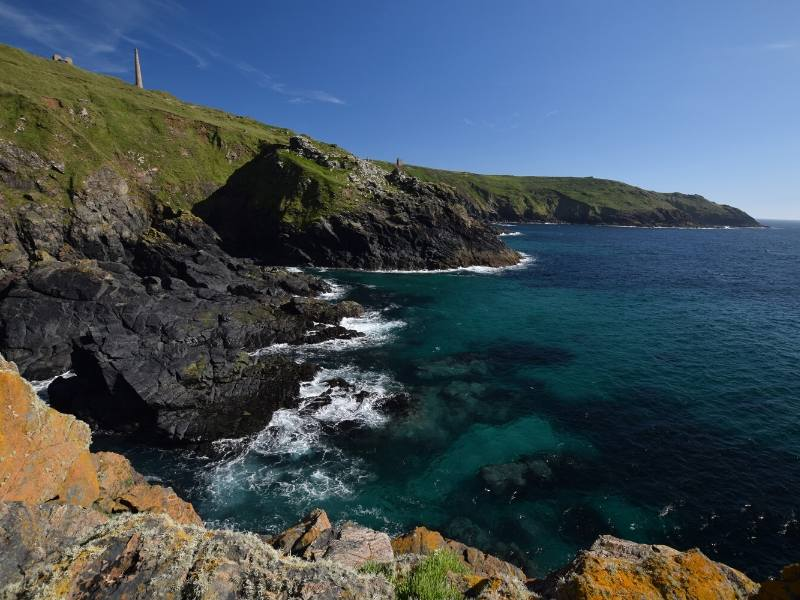 Penwith Coastline in Cornwall