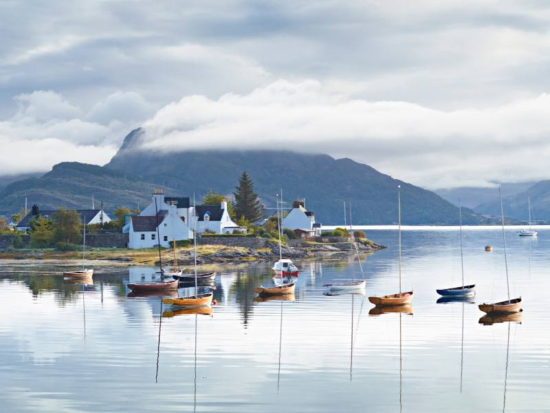 Plockton in Scotland