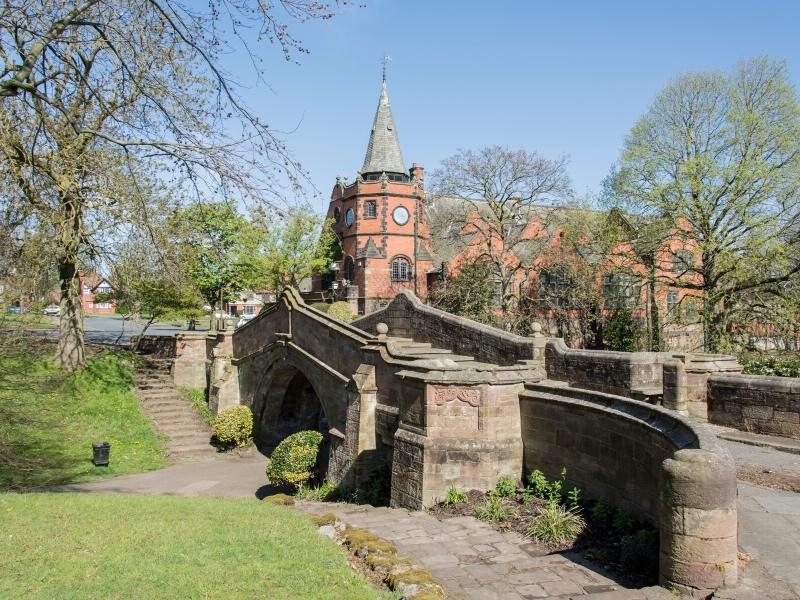 Port Sunlight in Liverpool