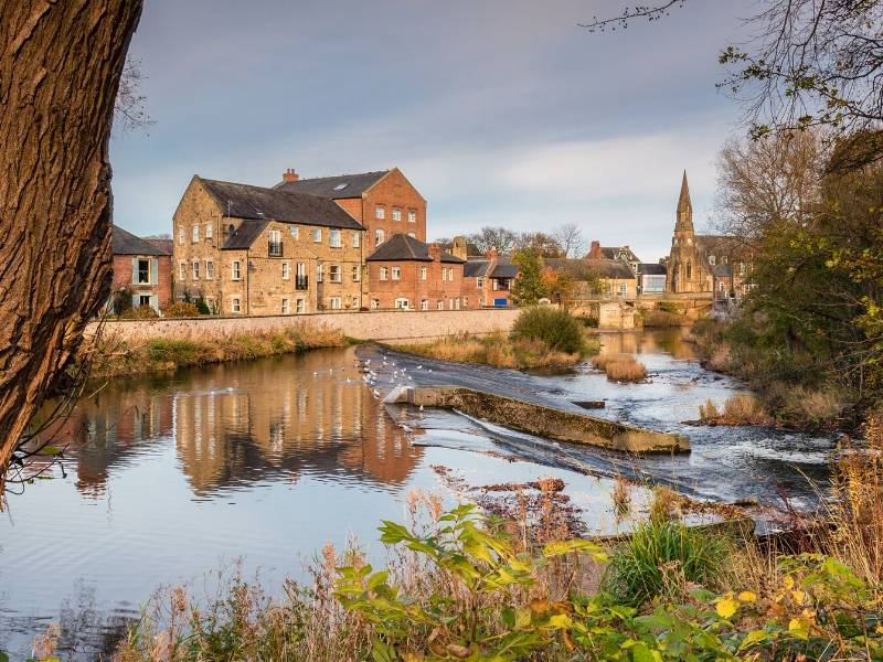 River Wansbeck in Morpeth