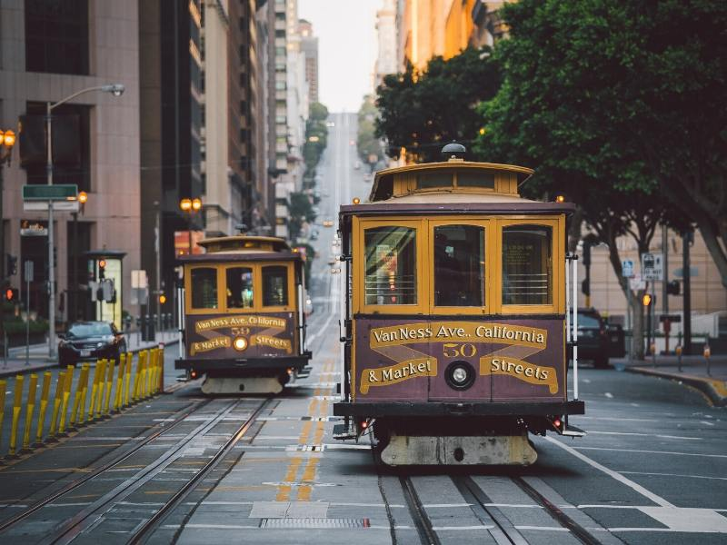 Take the cable car when you have 3 days in San Francisco