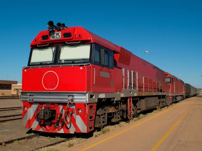 The Ghan in Australia