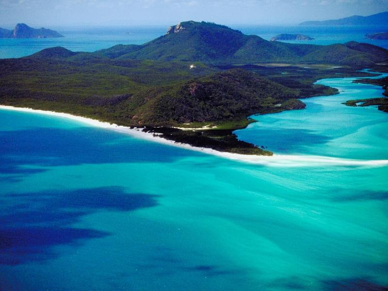Whitsunday Islands in Australia