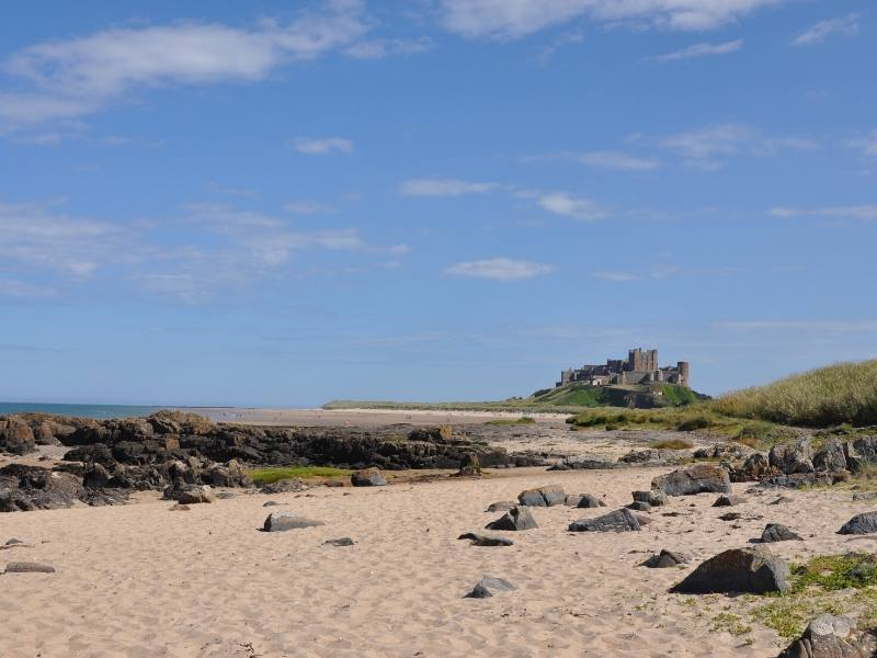 There are many places to visit in Northumberland including the gorgeous beaches near Lindisfarne