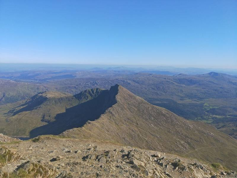 A view of Snowdonia