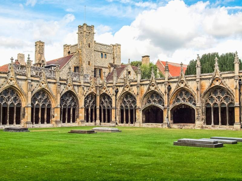 Canterbury Cathedral one of the easy day trips from London by train