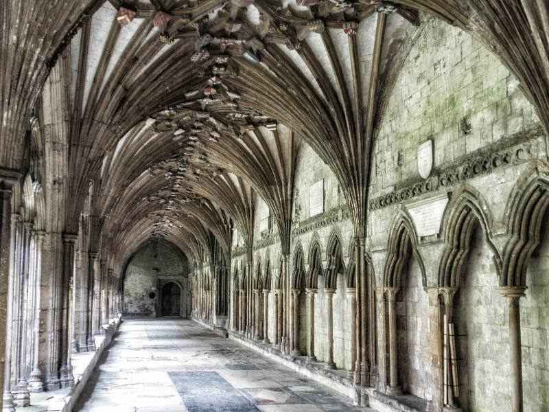 Canterbury Cathedral arches