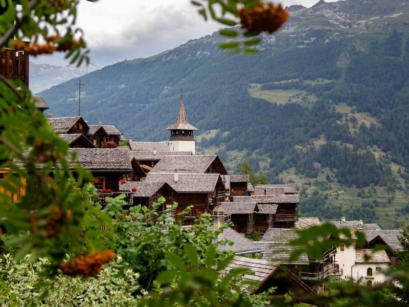 Grimentz in Switzerland