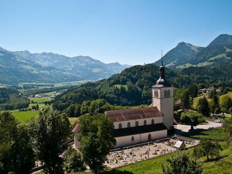 Gruyeres in Switzerland