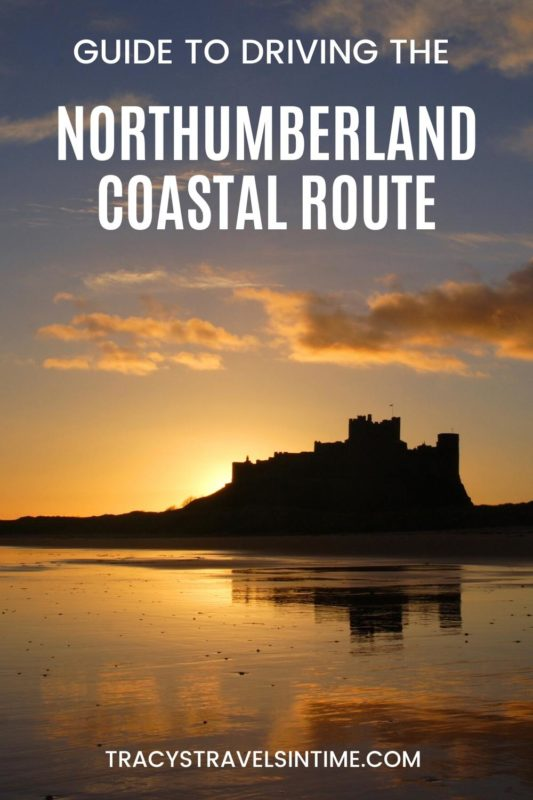 A picture of a castle in Northumberland which you will see if you follow my guide to driving the Northumberland Coastal Route