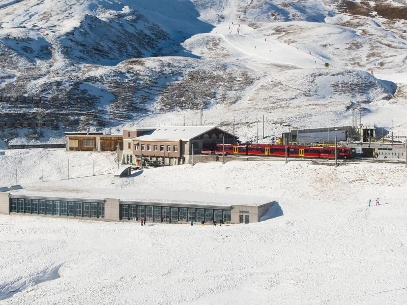Jungfrau train station