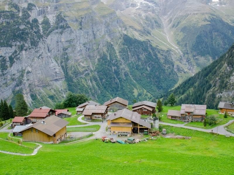 Murren in Switzerland