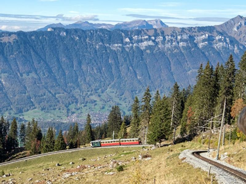 The Schynige Platte Railway