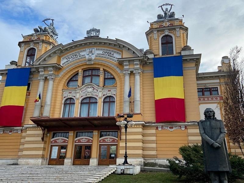 The Black Eagle Palace in Romania