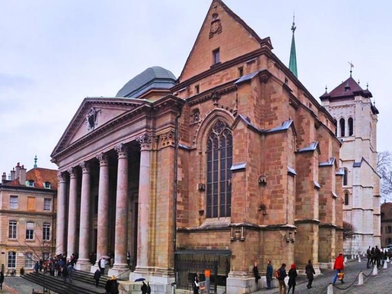 St Pierre's Cathedral in Switzerland