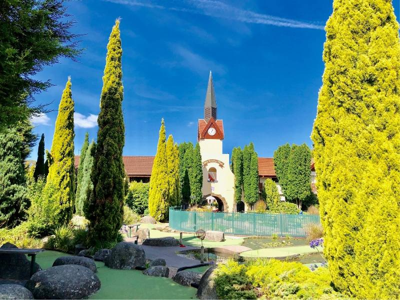 A Swiss style village in Tasmania