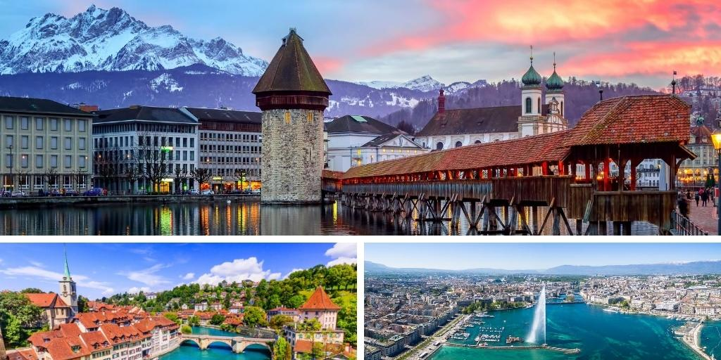 Top 6 best cities to visit in Switzerland - including map!