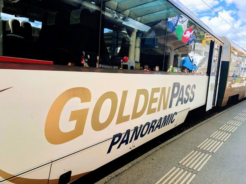 The Golden Pass Train in Switzerland one of the most scenic rail journeys in Europe