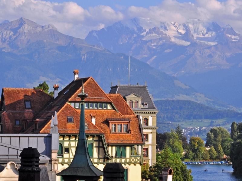 Thun in Switzerland