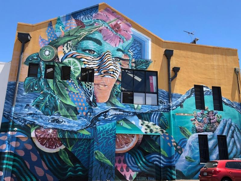 Street art in Townsville