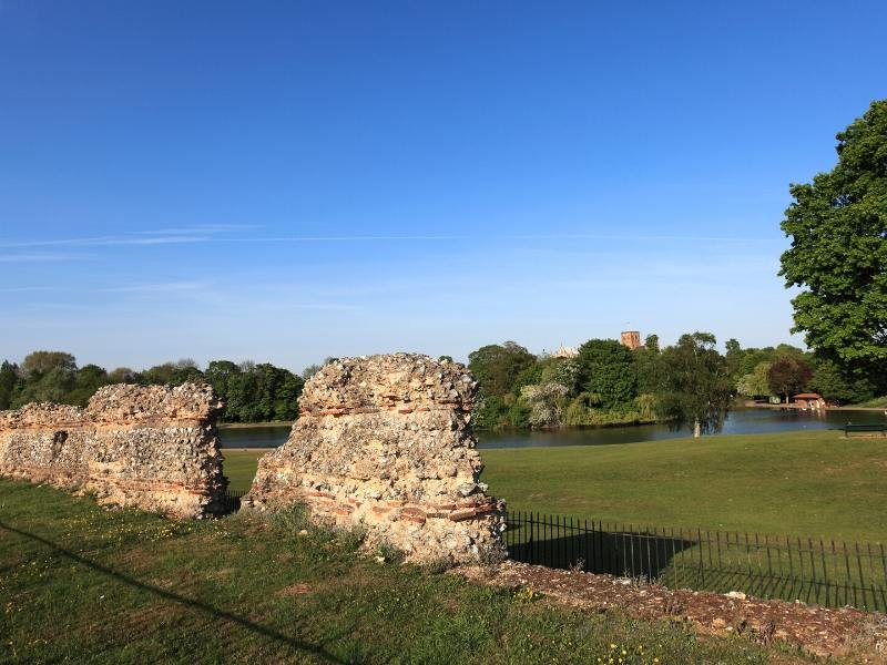 Roman ruins in St Albans