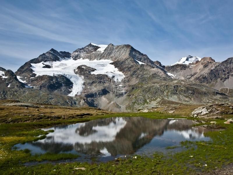 Beautiful mountain views in Switzerland
