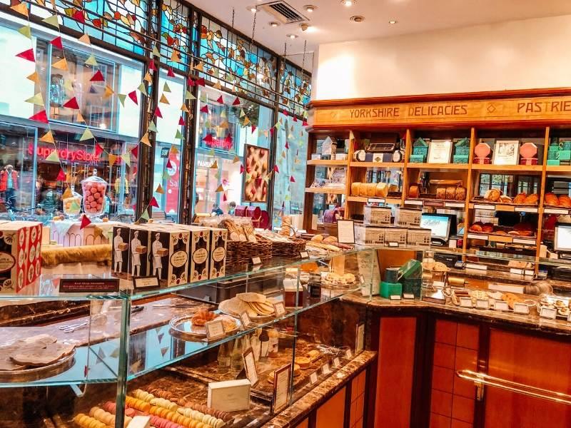 Bettys Tea Rooms in York a popular UK bucket list destination