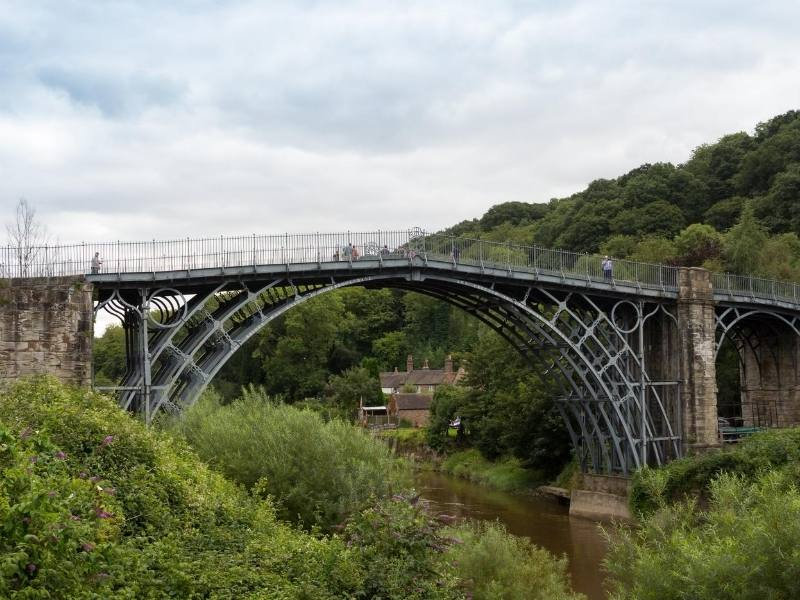 Ironbridge (an iron bridge)