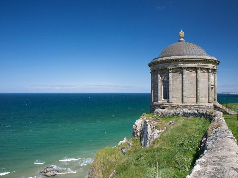 Mussenden Temple a popular UK bucket list destination