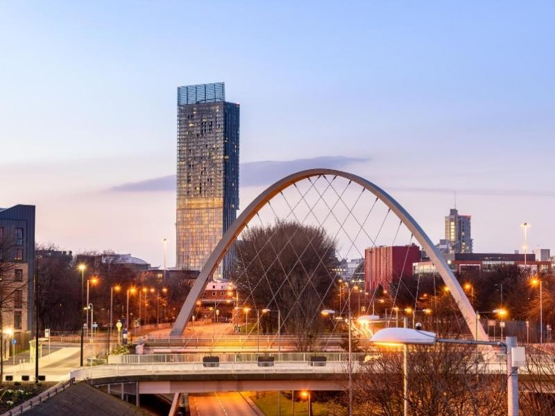 The city of Manchester in England one of the best cities in England to visit