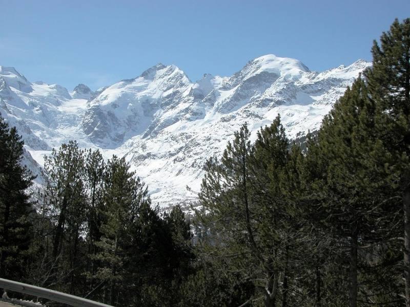 Mountain views in Switzerland