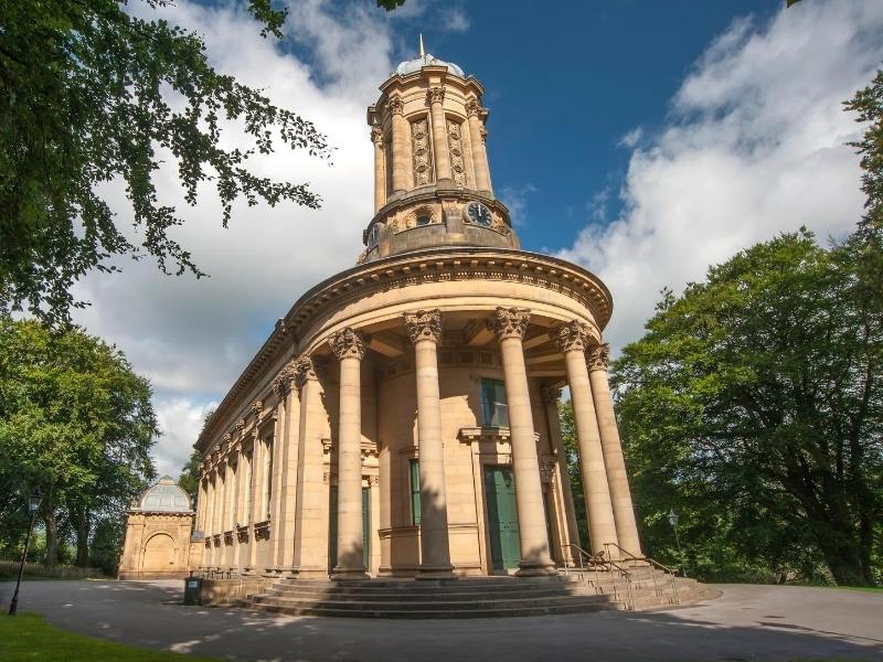 United Reform Church in Saltaire