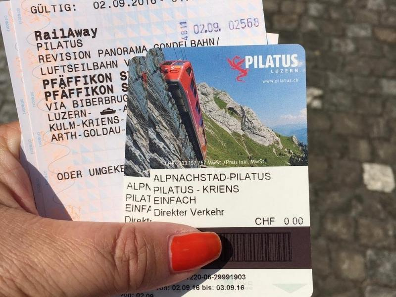 Tickets for Mount Pilatus are included on many Mt Pilatus Tours