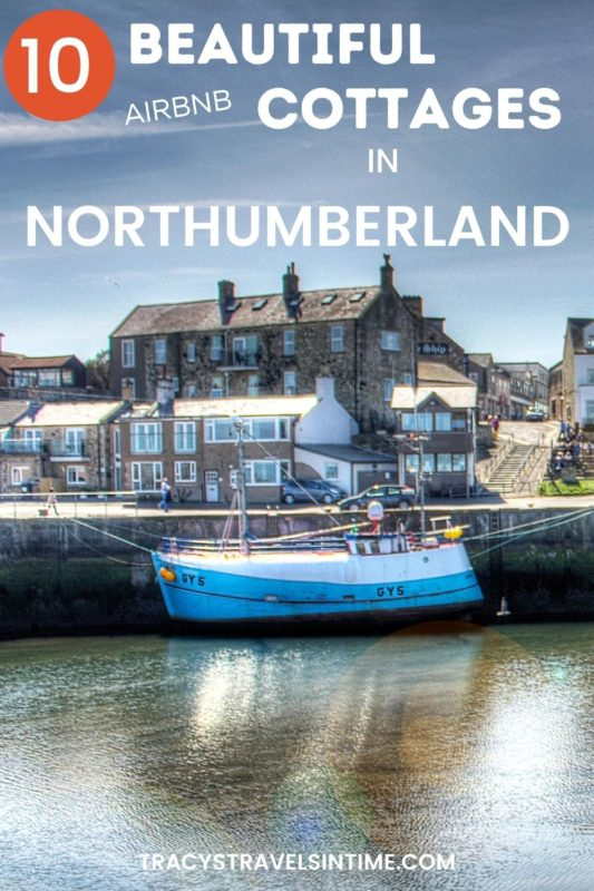 A view of Seahouses where you will find a selection of airbnb northumberland cottages and cabins