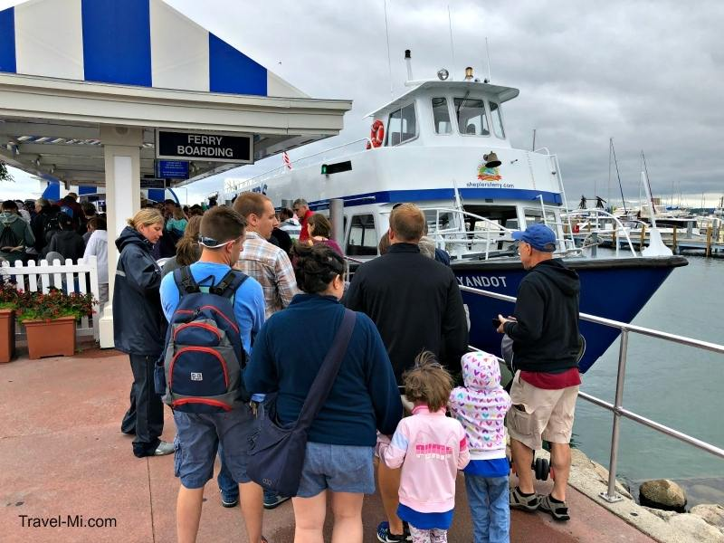 Ferry to Mackinac Island