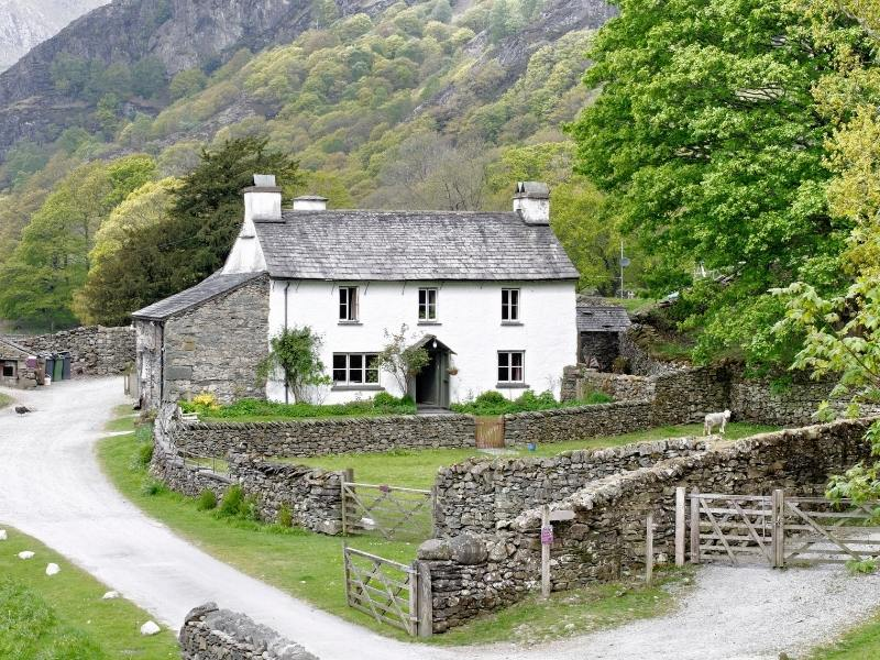 Hill Top cottage the home of Beatrix Potter is one of the must do places and things to do in Lake Windermere