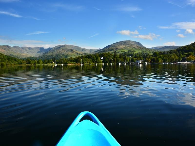 Kayaking Lake Windermere
